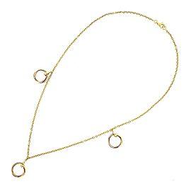 Cartier Trinity 3 Motif Necklace