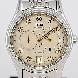 Oris Regulator Classic 7473 35.5mm Mens Watch