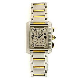 Cartier Chronograph 2303 28mm Mens Watch