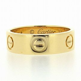Cartier 18K YG Love Ring Size 5.75