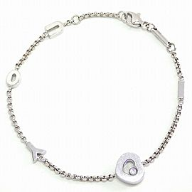 Chopard 18K WG Diamond Bracelet