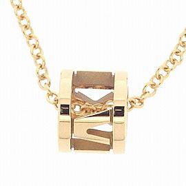 Tiffany & Co. 18K RG Atlas Necklace