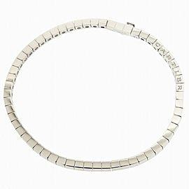 Cartier 18K WG Lanieres Bracelet Size 16