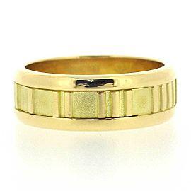 Tiffany & Co.18K YG Atlas Ring Size 7.25