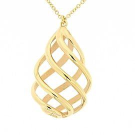 Tiffany & Co. 18K RG Paloma Picasso Luce Twist Necklace