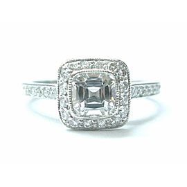 Tiffany & Co Platinum Legacy Diamond Engagement Ring 1.34Ct F-VS2
