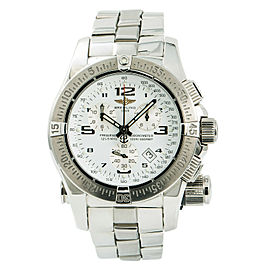 Breitling Emergency Mission A73321 Mens Quartz Watch With Box & Papers 43mm