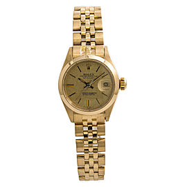 Rolex Datejust President 6916 Jubilee Womens Automatic Vintage Watch 18K 26mm