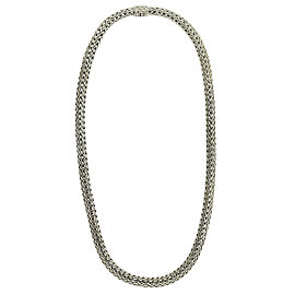 John Hardy Sterling Silver 7mm Classic Wheat Necklace