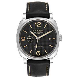 Panerai Radiomir 1940 Black Dial 45mm Steel Mens Watch PAM00627