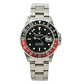 Rolex GMT-Master II Fat Lady 16760 Mens Automatic Watch Stainless Steel 40mm