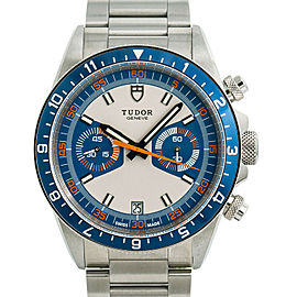 Tudor Heritage 70330B Mens Automatic Watch With Papers Stainless Steel 42mm
