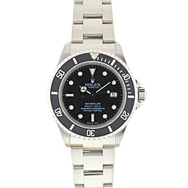 Rolex 16600 Sea-Dweller Stainless Steel Black Dial Automatic Watch