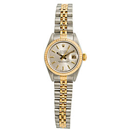 Rolex Datejust 79173 Womens 2001 Automatic Watch 18k Two Tone 26mm