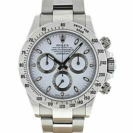 Rolex 116520 Daytona Cosmograph Stainless Steel Automatic Watch Box & Papers