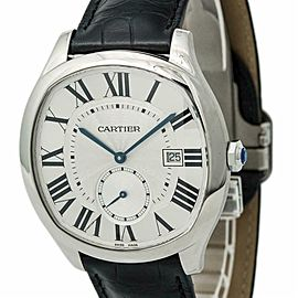 Cartier Drive 3930 WSNM0006 Mens Automatic Watch Silver Dial SS 41mm