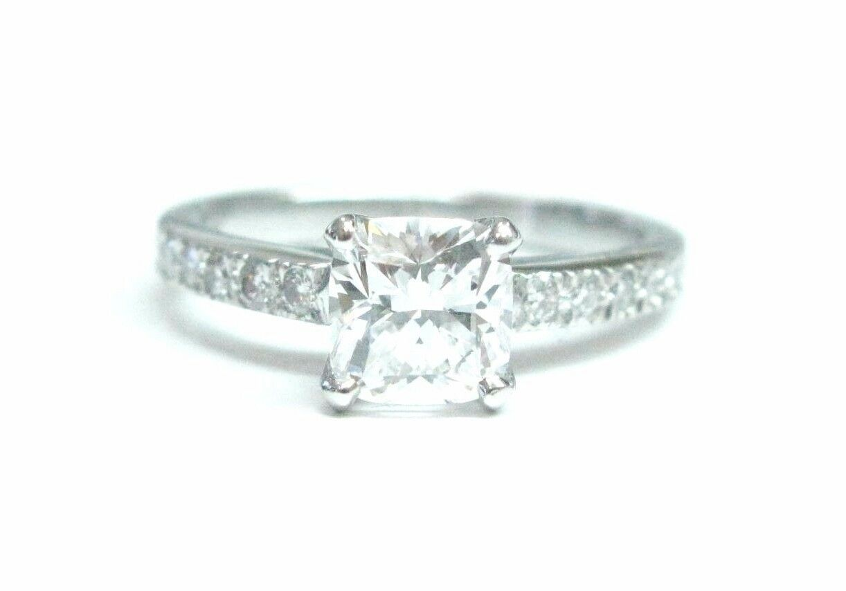 825e173284f6e Tiffany & Co Platinum Novo Diamond Engagement Ring I-VVS2 .93CT