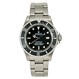 Rolex Sea-Dweller 16600 P 2000 Mens Automatic Watch Black Dial Stainless 40mm