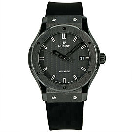 Hublot Classic Fusion Carbon Ceramic 565.CM.1771.RX Mens Automatic Watch 38mm