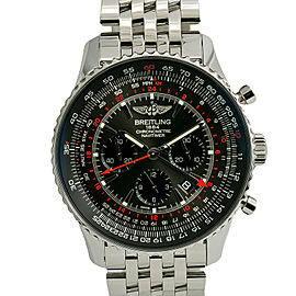 Breitling Navitimer GMT AB0441 Mens Automatic Watch W/Box & Papers 48mm
