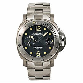 Panerai Luminor Submersible PAM00106 Mens Automatic Watch With Box & Papers 44mm