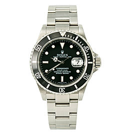 Rolex Submariner 16610T Z serial Unpolished Men's Automatic Watch 40mm