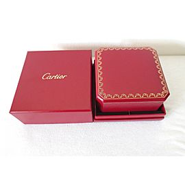 Genuine Cartier Love and Juste Un Clou Bracelet Red Presentation Box MINT