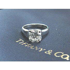 Tiffany & Co Lucida Diamond Platinum Engagement Solitaire Ring 2.19CT I-VVS2