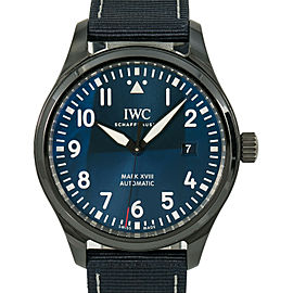 IWC Pilot's Watch Mark XVIII Edition Laureus IW324703 Men's Auto Watch 41mm