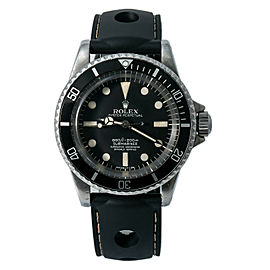 Rolex Vintage Submariner 5512 5.4 Million Serial Matte Dial 4 Liner Watch 40mm