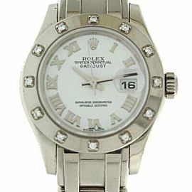 Rolex Masterpiece 80319 29mmWhite Gold White Women's Automatic