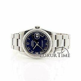 Rolex Datejust 116200 36mmStainless Steel Blue Women's Automatic