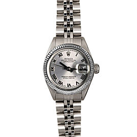 Rolex Datejust 6916 26mmStainless Steel Silver Roman Women's Automatic