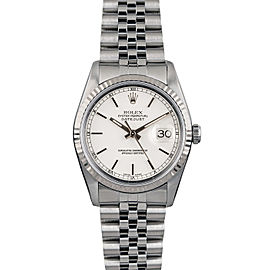 Rolex Datejust 16014 36mmStainless Steel White Index Women's Automatic