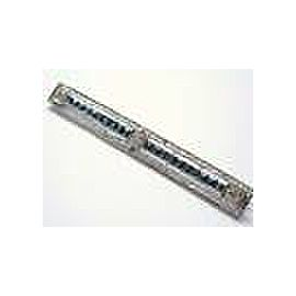 Fine Platinum Deco Old European Sapphire Diamond Pin/Brooch