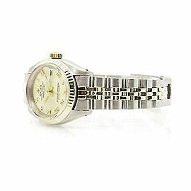 Rolex Datejust 26mm 6917 Women's Champagne Yellow Gold 26mm 1 Year Warranty