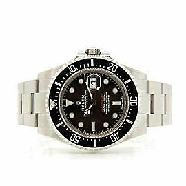 Rolex Sea-Dweller 126600 Men's Black Stainless Steel 43mm 1 Year Warranty