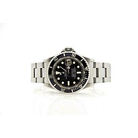 Rolex Submariner 1680 Men's Black Stainless Steel 40mm Automatic 1 Year Warranty