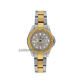 Rolex Yacht-Master 168623 Women's Yellow Gold 35mm Automatic 1 Year Warranty