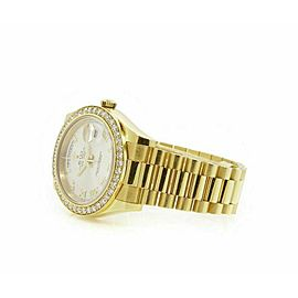 Rolex Day-Date II 218348 Men's Yellow Gold 41mm Automatic 1 Year Warranty