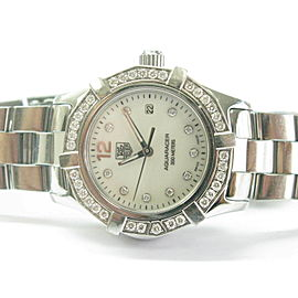 Tag Heuer Aquaracer Diamond Bezel & Diamond Mother Of Pearl Ladies Watch