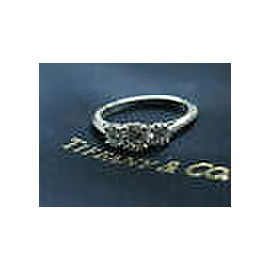 Tiffany & Co Round Diamond Three Stone Engagement Ring 1.00CT E/VS1-2 SIZEABLE