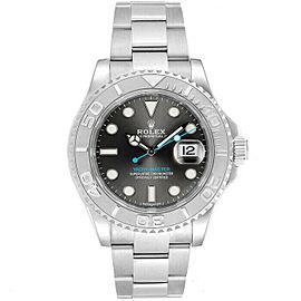 Rolex 116622 Yacht-Master Men's Stainless Steel Rhodium 1 Year Warranty