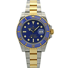Rolex 116613 Submariner Men's Stainless Steel Blue 1 Year Warranty