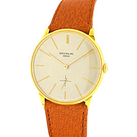 Patek Philippe Vintage Calatrava 2573/2 Yellow Gold Manual Wind Watch