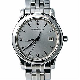 Jaeger-Lecoulture Master Control 147.8.37.S Men Auto Watch W/Box & Papers 40mm
