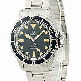 Tudor Submariner Snowflake 94010 Mens Automatic Vintage Watch Year 1979 40mm