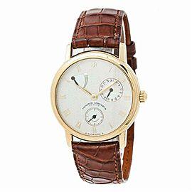 Vacheron Constantin Patrimony 47200 Mens Automatic Watch Cream Dial 36mm
