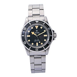 Tudor Oyster Submariner 7016/0 Automatic Men's Watch 1968 Vintage Patina 40mm