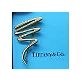 Tiffany & Co Paloma Picasso Zig-Zag Brooch 18Kt Yellow Gold